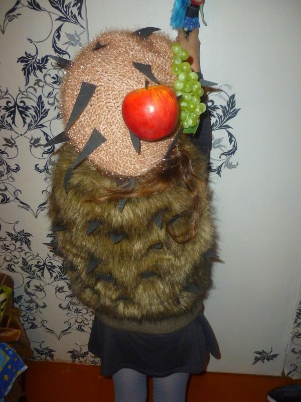 костюм ежика